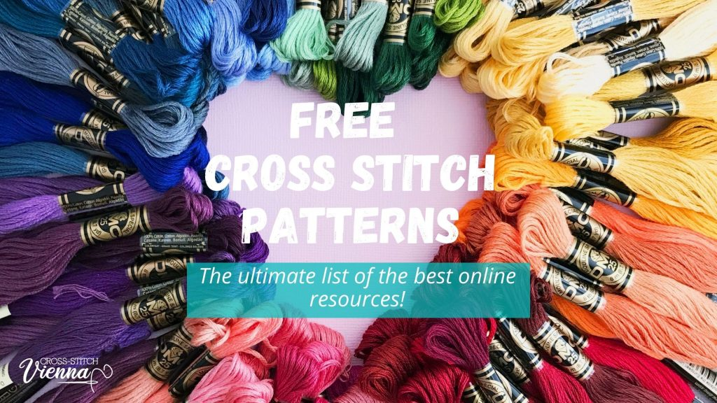 Where to Find Free Cross-Stitch patterns? The ULTIMATE list [ 2021]