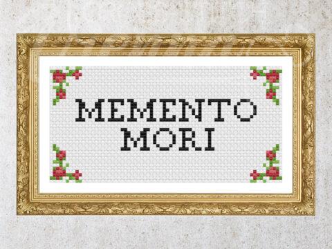 Memento Mori – Free Counted Cross-Stitch Pattern